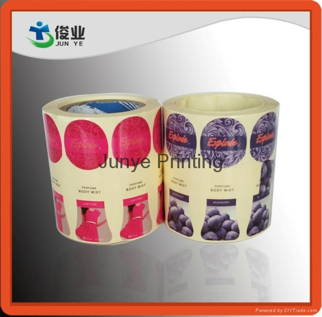 Printing Labels for Body Mist Bottles 5
