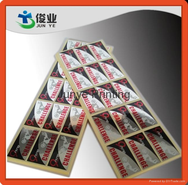Metallic Self Adhesive Labels for High End Perfumes 1
