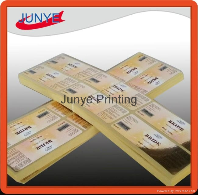 Metallic Self Adhesive Labels for High End Perfumes 3
