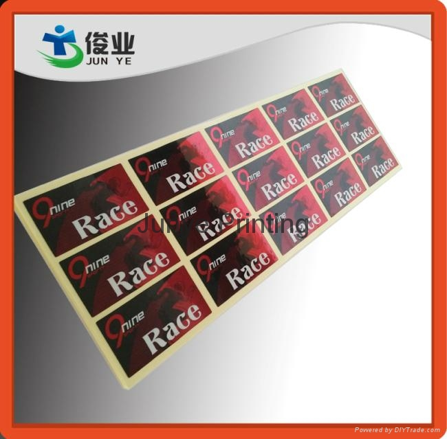 Glossy Si  er Printed Stickers for Water Purified Equipments 1