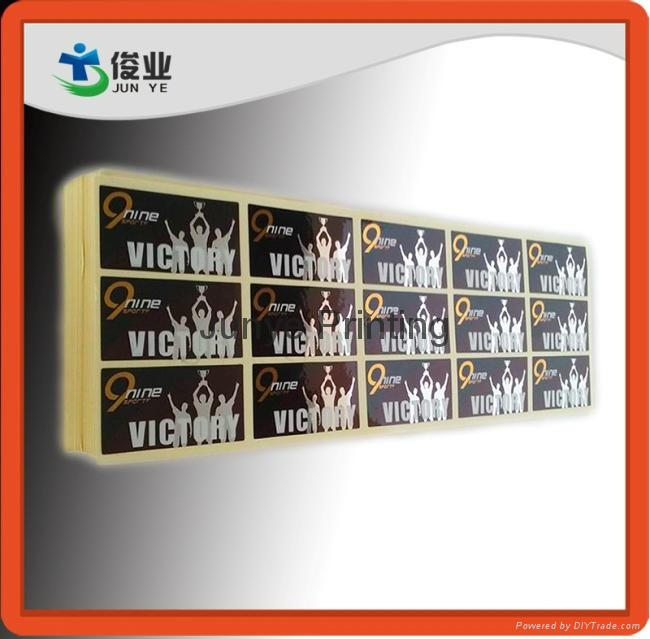 Glossy Si  er Printed Stickers for Water Purified Equipments 4