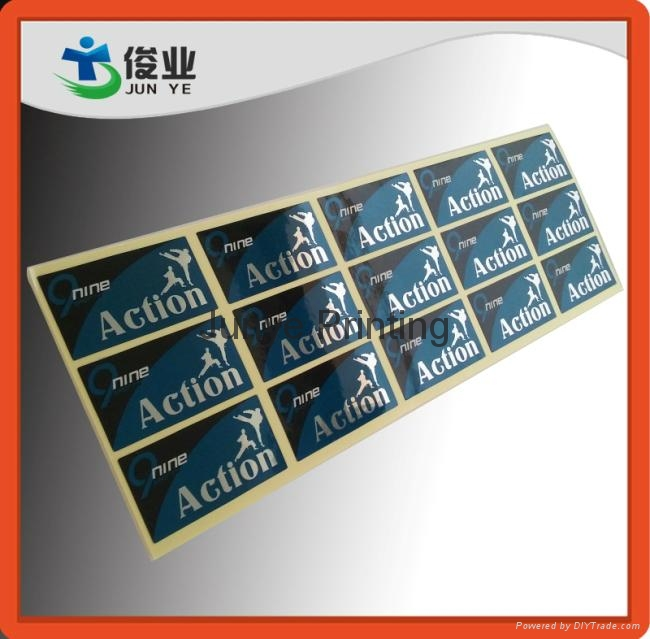Glossy Si  er Printed Stickers for Water Purified Equipments 5