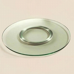 12 inch 300mm Aluminum Lazy Susan Bearing Swivel Plate Hardware for Dining-Table