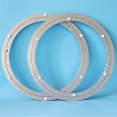 18英寸450mm圆形旋转铝合金餐桌转盘