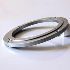 5寸圓形錯位鋁合金展示架底座轉盤轉台廠家現貨