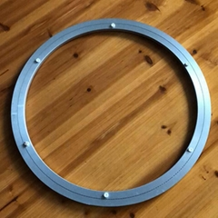 20寸铝合金双圈圆形家居五金配件转盘转芯
