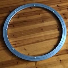 600mm鋁合金雙圈圓形家居五金配件轉盤轉芯