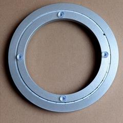 展示架用12寸圓形鋁合金無聲消音轉盤底座