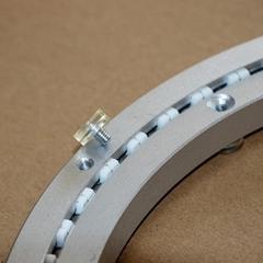 10英寸无声消音酒店餐桌用铝转盘