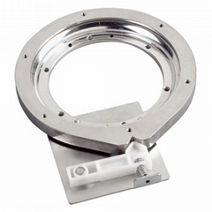 7 inch Aluminum Corner Cabinet Lazy Susan Base with stop