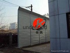 工廠專用彩鋼板聲屏障