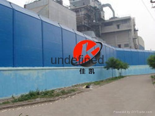 工廠專用彩鋼板聲屏障 2