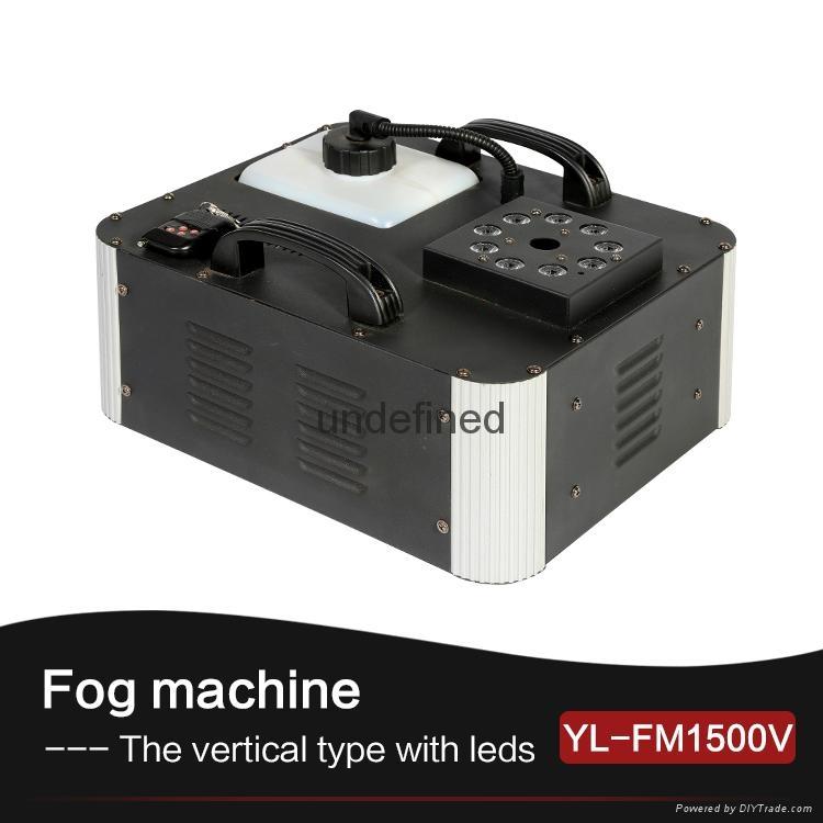1500Watt RGB Color LED Vertical Smoke Fog Machine 1
