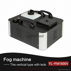 1500Watt RGB Color LED Vertical Smoke Fog Machine