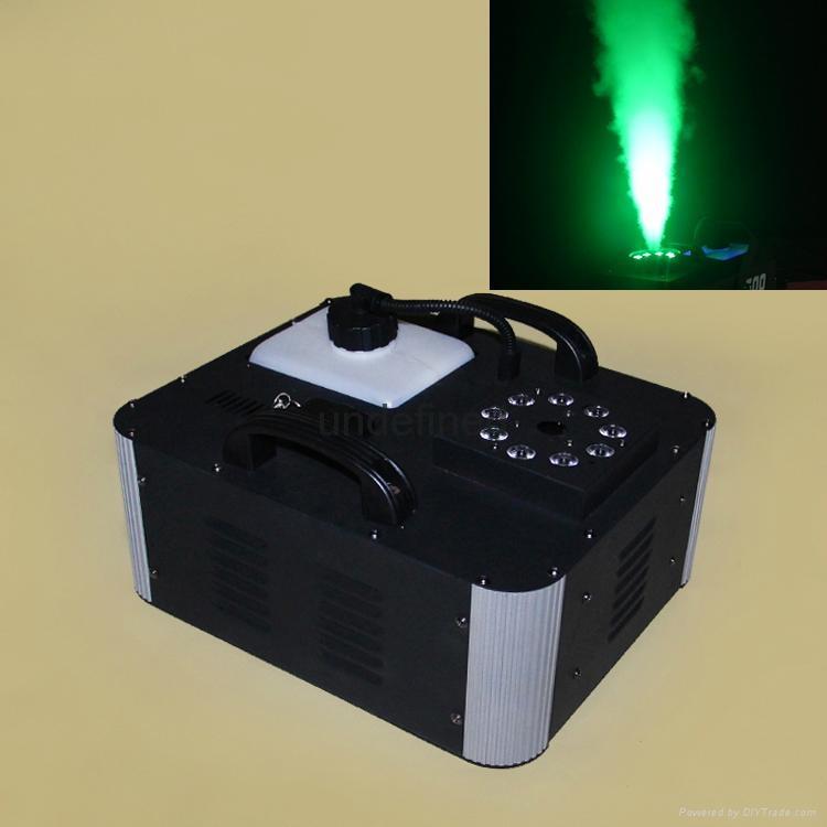 1500Watt RGB Color LED Vertical Smoke Fog Machine 2