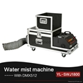 Pro Stage DJ KTV Disco 1800Watt Water Low Fog machine with Flight Case 2