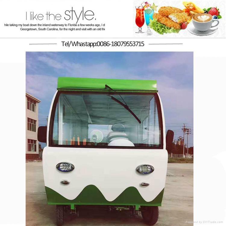 Foctory Design Food Cart Street Food Kiosk Food Booth Mobile Snack