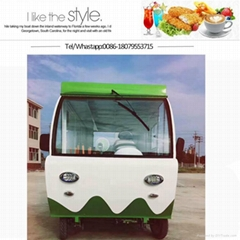 Foctory Design Food cart street food kiosk food booth mobile snack car towable i