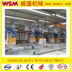 100/800 Diamond Marble Gang Saw Marble Cutter