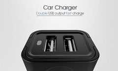 Veaqee manufacturer Dual usb car charger QC 3.0 PIN car mobile charger supplier
