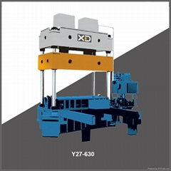 Y27 315ton-2500ton 3 beams 4 columns hydraulic press machine
