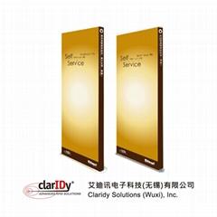 HF/UHF RFID EAS Gate library anti-theft door