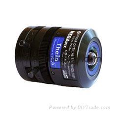 美國Theia SL183M五百萬像素廣角無畸變不變形工業級變焦鏡頭
