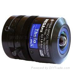 美國Theia SL183A五百萬像素廣角無畸變不變形工業級變焦鏡頭
