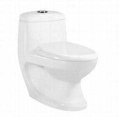 P-TRAP  washdown one piece toilet
