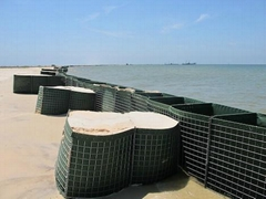 5mm wire diameter hesco flood barrier cost supplier in China