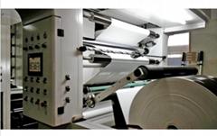 Unit type high speed rotogravure flexo printing machine 150m/m water based ink
