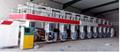 gravure printing machine 7 motors Horizontal-vertical color register double side 5