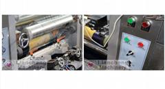 electric drying tube max 150m/m printing speed 3 motor gravure printing machine