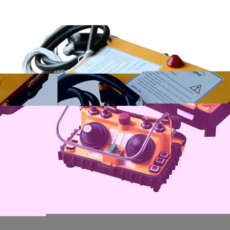 F24-60 Industrial Radio Dual Joystick Crane Remote Controller 3