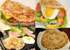 China frozen vegetable paratha