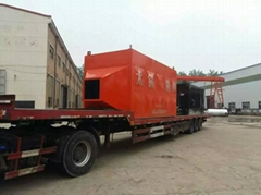 Industrial 82% high efficiency 0.7Mpa certificated biomass fired steam boiler