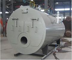 WNS1-0.7-YQ 1Ton 7Bar Fire Tube Natural Gas Fired Steam Boiler