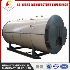 For Industry Use 500-6000KG/HR Full-auto Industrial Diesel Fire Steam Generator