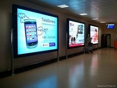 Scrolling Billboard Advertising System