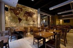 Custom Printed Tile for Cafe & Restaurant