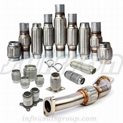 Exhaust Flex pipe, flexible hose, flexible Coupler, metal bellows, exhaust muffl