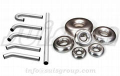 Exhaust bending pipe elbows stainless steel donuts exhaust bends donuts