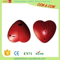Small Heart-shaped Recordable Sound Chip for plush toy and doll simulation heart 4