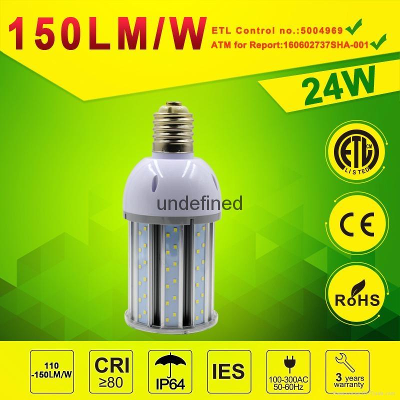 24watt LED Post Top Retrofit Light Retrofit LED Corn lamp 2