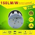 24watt LED Post Top Retrofit Light Retrofit LED Corn lamp 4