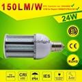 24watt LED Post Top Retrofit Light Retrofit LED Corn lamp 5