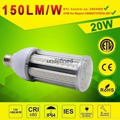 20watt Retrofit LED Corn lamp Post Top