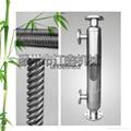 不鏽鋼潤滑油降溫冷卻器 螺旋繞管冷卻器 循環水降溫冷凝器大促銷 2