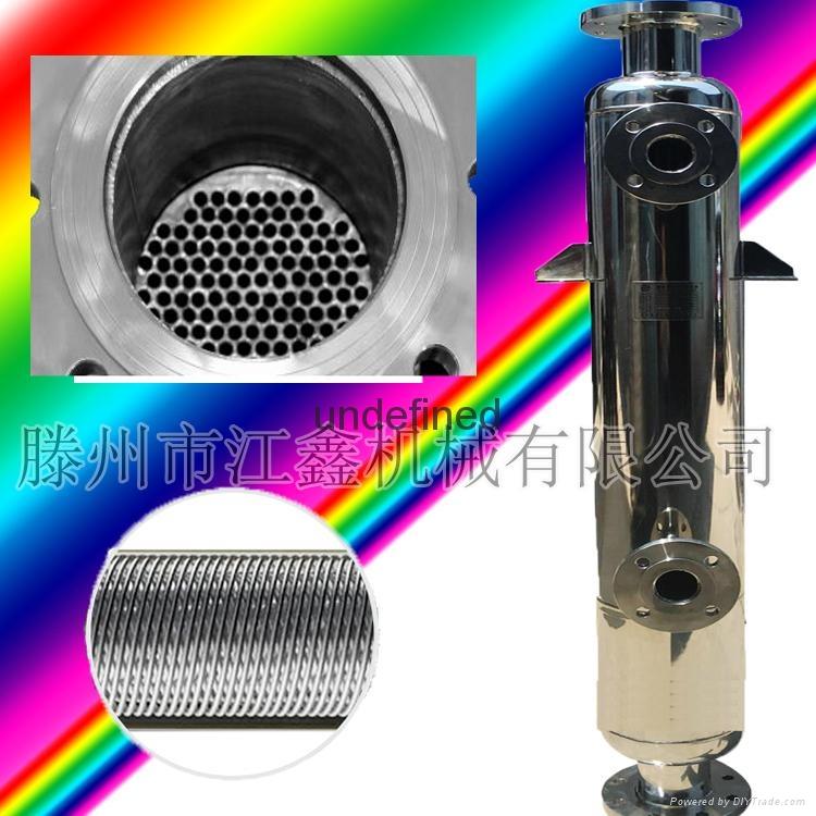 不鏽鋼潤滑油降溫冷卻器 螺旋繞管冷卻器 循環水降溫冷凝器大促銷 4