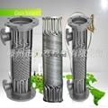 不鏽鋼潤滑油降溫冷卻器 螺旋繞管冷卻器 循環水降溫冷凝器大促銷 5
